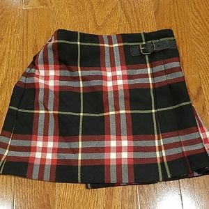 Burberry Toddler Plaid Skirt